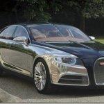 Galibier é o nome do conceito da Bugatti com 4 portas