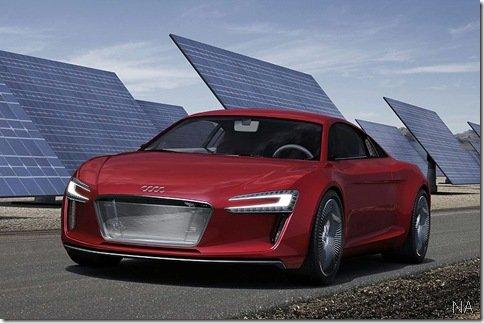 Audi E-Tron vaza pouco antes do Salão de Frankfurt iniciar