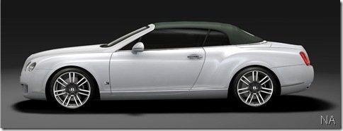 Bentley prepara edição especial do Continental para Frankfurt