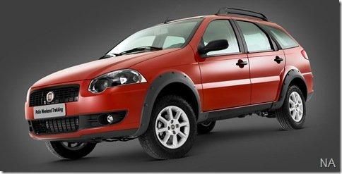 Fiat Palio Weekend Trekking ganha motor1.8 Flex