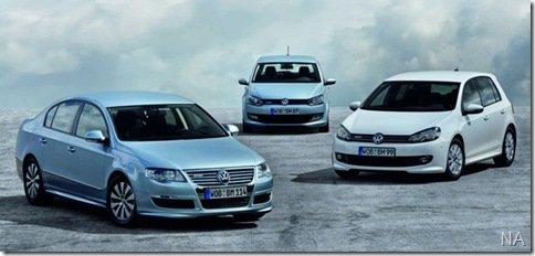 Novos Polo, Golf e Passat BlueMotion estarão em Frankfurt