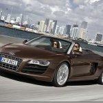 Vazam as imagens do Audi R8 Spyder