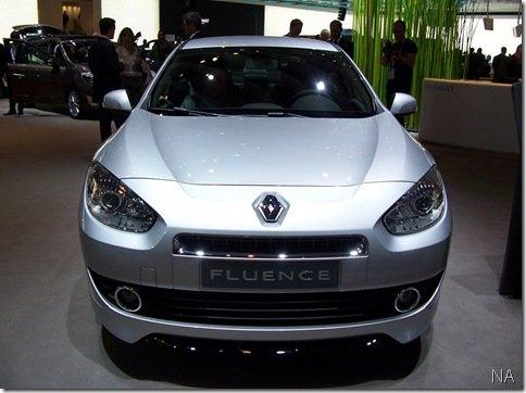 Salão de Frankfurt 2009 – Renault Fluence