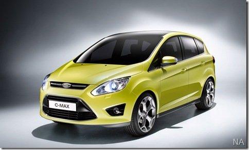Ford revela imagens da nova geração da C-Max
