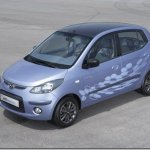Hyundai i10 Electric será mostrado em Frankfurt