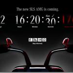 Merceded SLS AMG será apresentano nesta Quata-Feira