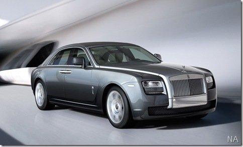 Rolls-Royce apresenta seu novo sedan, o Ghost