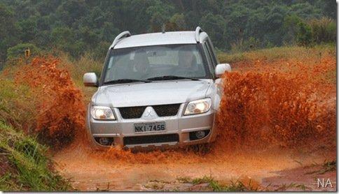 Depois de muita reviravolta Mitsubishi lança a nova Pajero TR4 2010
