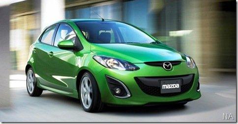 Mazda2 que será produzido na Tailândia ganha retoques visuais