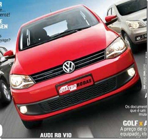 Surge primeira imagem do Volkswagen Fox 2010