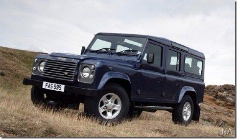 Land Rover Defender deixará de ser produzido em 2013