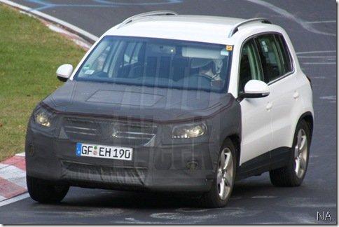 Volkswagen está preparando facelift para o Tiguan