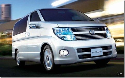 Linha 2010 do Nissan Elgrand será mostrada em Tóquio