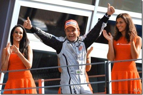 Rubens Barrichello correrá pela Williams em 2010