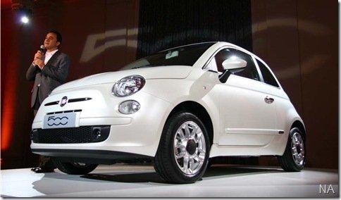 Fiat 500 terá motor Diesel MultiAir