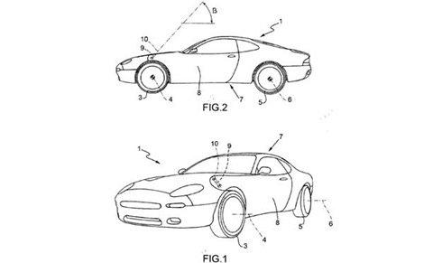 Ferrari registra patente de um novo sistema de abertura de portas