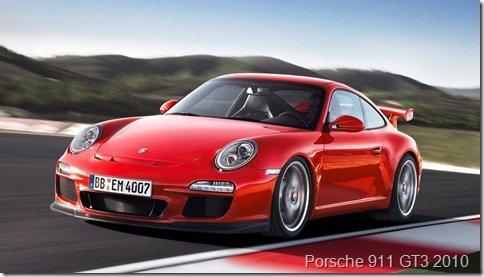 Novo Porsche 911 será lançado em 2011