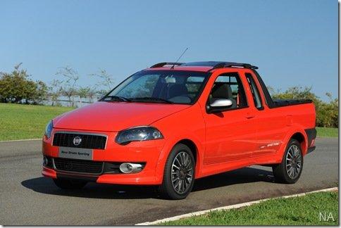 Fiat revela a Strada Sporting