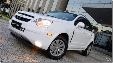 Chevrolet apresenta oficialmente a Captiva 2010