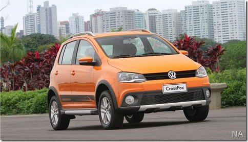 Volkswagen CrossFox é lançado por R$ 45.550