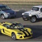 Chrysler cancela desenvolvimento de veículos elétricos