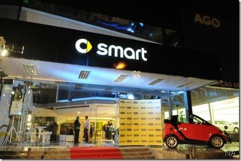 smart inaugura concessionária no Rio de Janeiro