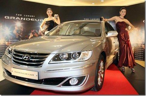 Hyundai Azera reestilizado é apresentado oficialmente