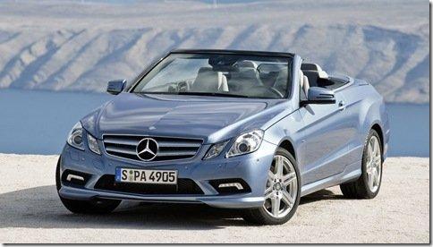 Mercedes revela oficialmente o Classe E Cabrio