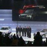 Audi apresenta nova geração do A8