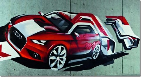 Audi revela teaser do A1 – Modelo será apresentado em fevereiro