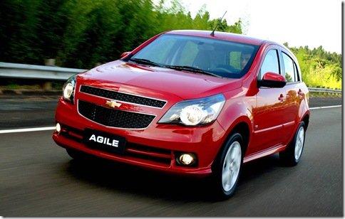 Chevrolet Agile fica mais barato, mas perde equipamentos