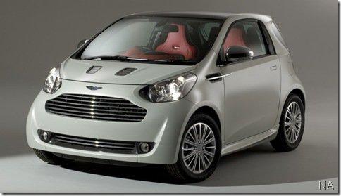 Aston Martin Cygnet só será vendido para donos de outros modelos da empresa