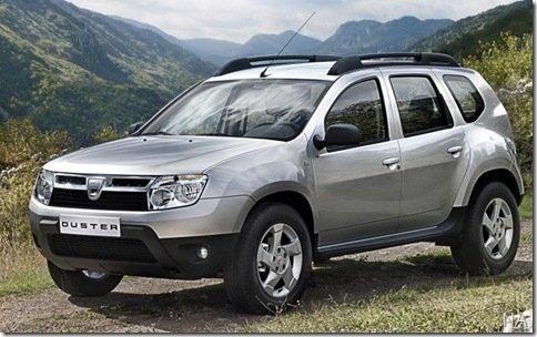 Dacia Duster é apresentado oficialmente, e chega ao Brasil em 2011 pelas mãos da Renault