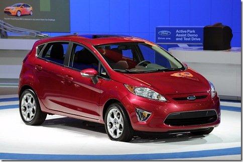 Salão de Los Angeles 2009 – Ford Fiesta 2011