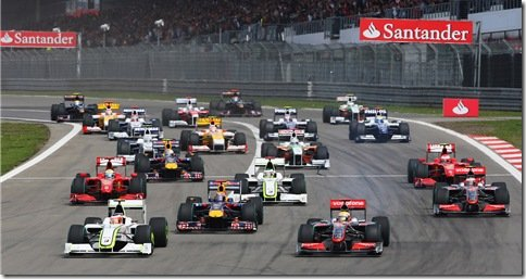 FIA divulga a primeira listagem de pilotos e equipes da Formula 1 2010