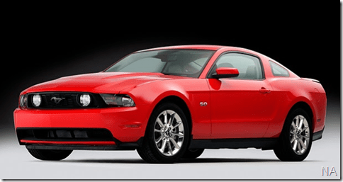 Primeira imagem do Mustang V8 2011 vaza na rede
