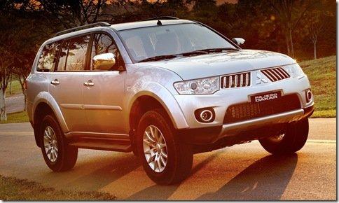 Pajero Dakar será feita no Brasil a partir de 2010