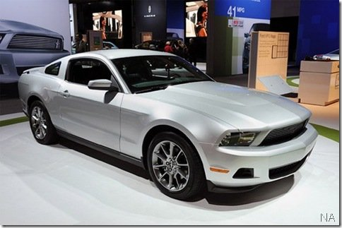 Salão de Los Angeles 2009 – Ford Mustang V6