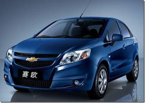 Chevrolet lança novo Sail na China