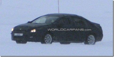 Peugeot 508 é flagrado em testes