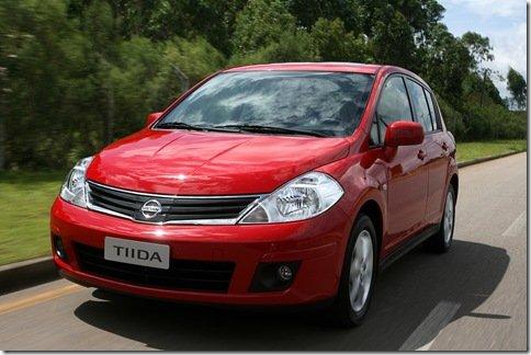 Novidades para o Nissan Tiida 2010