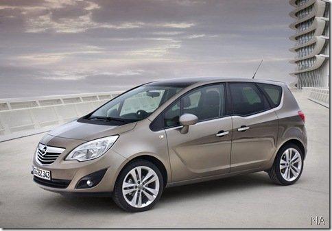 Nova Opel/Vauxhall Meriva 2011 – Surgem as primeiras imagens na web