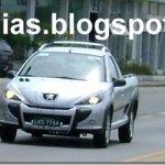 Peugeot 207 picape aparece novamente sem disfarces