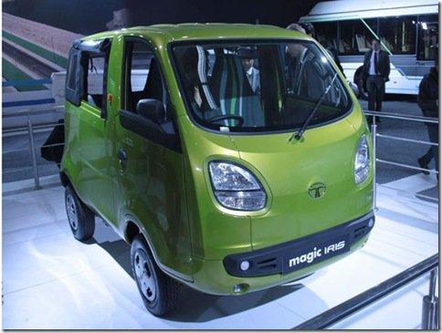 Tata apresenta a Magic Iris, a versão perua do Nano