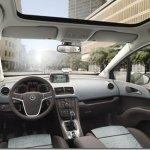 Nova Opel Meriva tem interior revelado