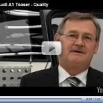 Video – Mais um teaser do Audi A1 para a coleção