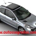 Dados oficiais do Peugeot 207 Quiksilver