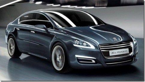 5 by Peugeot, nova identidade da marca agora em um sedan, o futuro 508