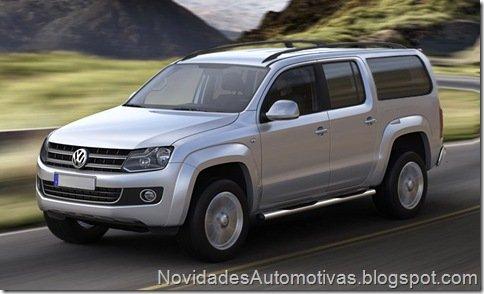 Volkswagen Amarok não deve ganhar versão SUV