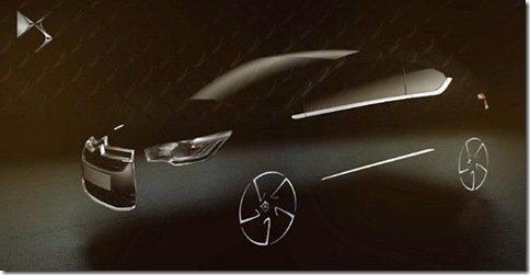 Citroën DS4 tem teaser revelado